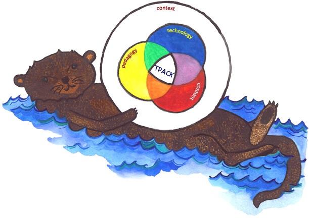 TPACK otter image