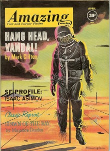 JPG image of Cover of Amazing Stories April 1962