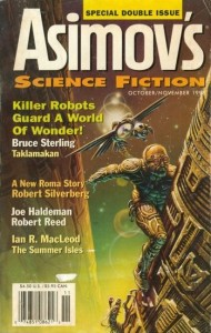 JPG image of Cover of Asimov Science Fiction October 1998