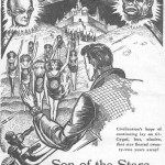 JPG image of illustrations for 'Son of the Stars' story