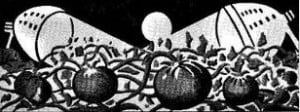 JPG Image from original version of Science Fiction Plus edition of Simak story