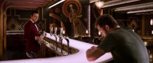 Image of Android Arthur serving at the excellent Avalon bar